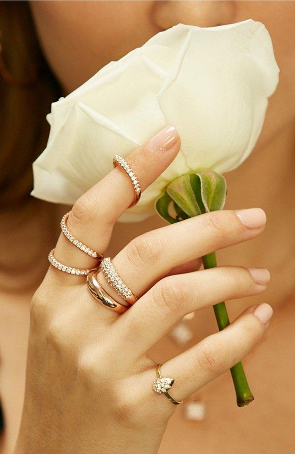 Carbon & Hyde Arabesque Finger Crawl Ring
