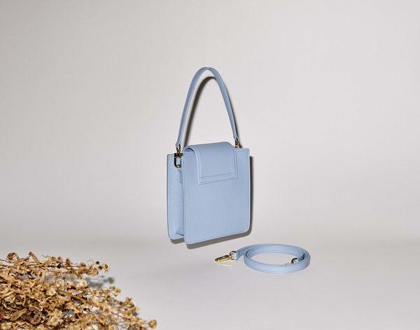 If I Fell Le Squarette Bag - Sky Blue