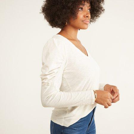 Nation Ltd Zella Shirt - Off White