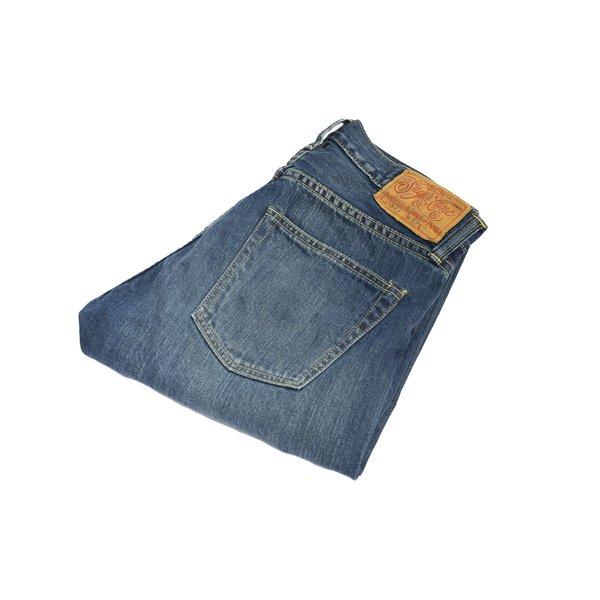 Sugar Cane Lot 877 Slim Taper Distressed Jeans