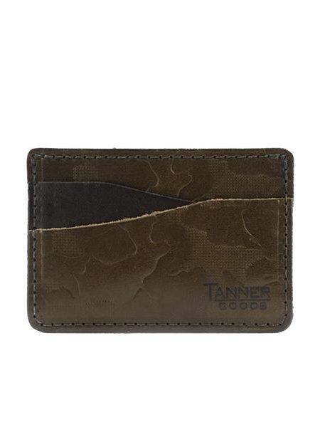 Tanner Goods Journeyman Wallet - Olive Foliage