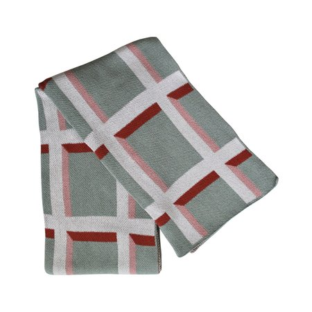 Happy Habitat Knit Throw Blanket - Windowpane