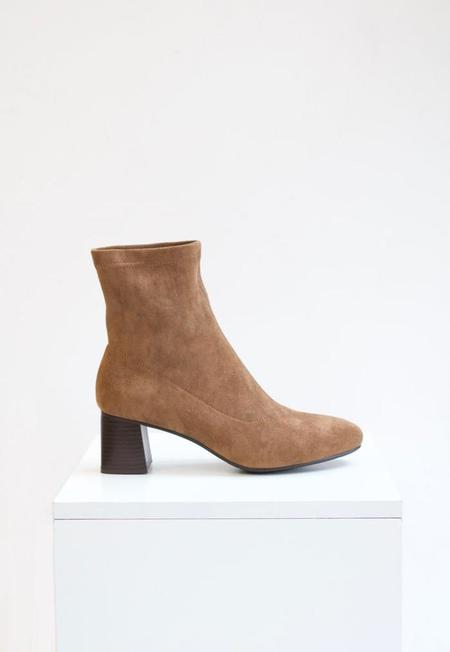 Collection & Co Kaira Sock Boot - Chocolate