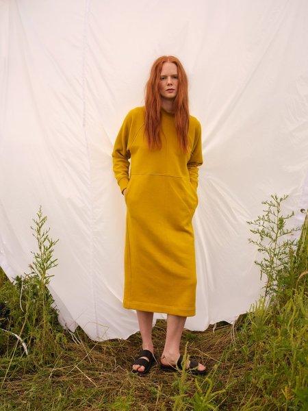 Odeyalo Calem Sweater Dress - Chartreuse