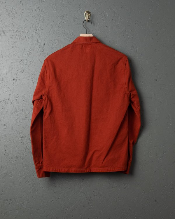 Tellason Garment Dyed Coverall Jacket - International Orange