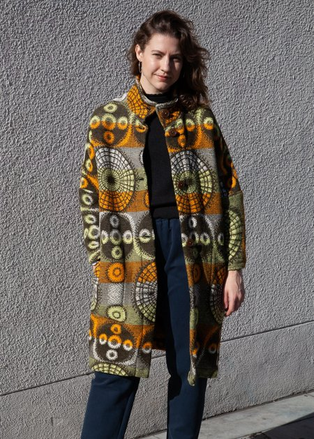 Gravel & Gold Dutch Blanket Lab Coat - Multi