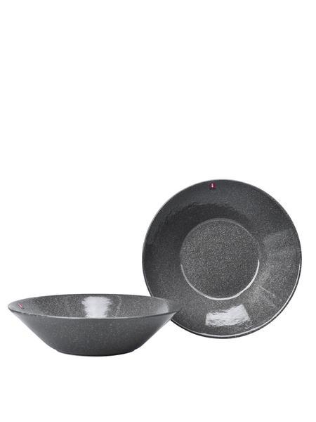 iittala Teema Pasta Bowl Set Of 2 - Dotted Grey