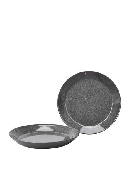 iittala Teema Salad Plate 8.5 Set Of 2 - Dotted Grey