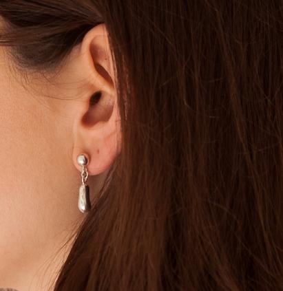 Muraco Wolfe Peanut Drop Earrings