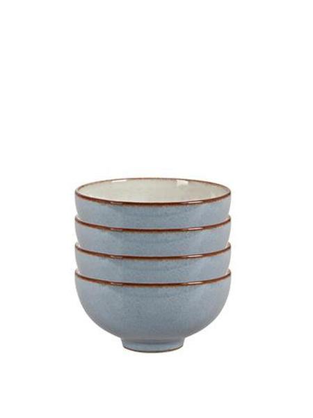 Denby Heritage Terrace Set Of 4 Rice Bowls