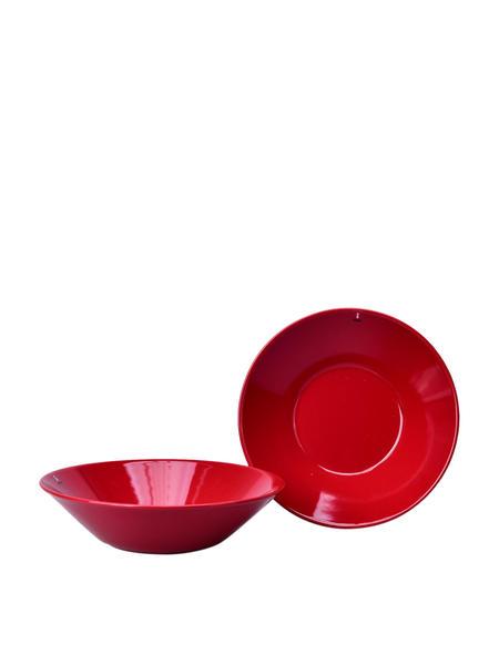 iittala Teema Pasta Bowl Set Of 2 - Red