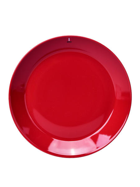 iittala Teema Salad Plate Set Of 2 - Red