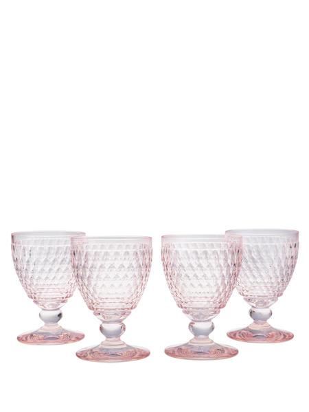 VILLEROY & BOCH Boston Goblet Set Of 4 - Rose
