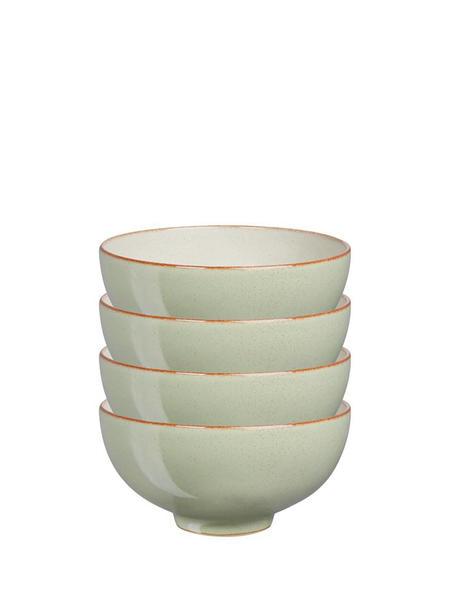 Denby Heritage Orchard Set Of 4 Rice Bowls