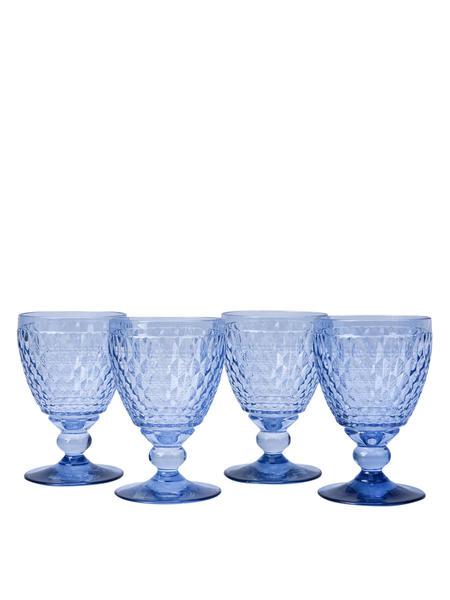 VILLEROY & BOCH Boston Clarets Set of 4 - Blue