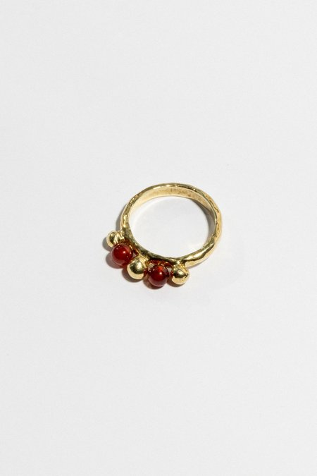 Ora-C Sylvaine Ring - BRASS