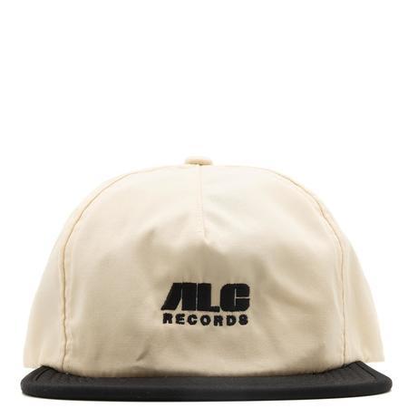 ALC Records x Real Bad Man Packable Cap - Cream