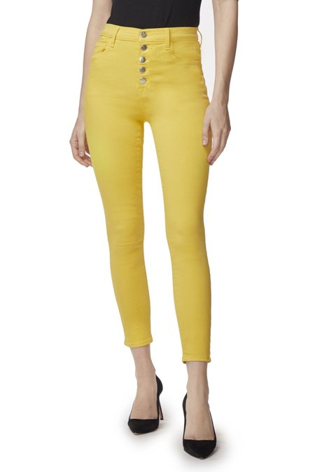 J Brand Lille High Rise Crop Skinny Jeans - Jessamine