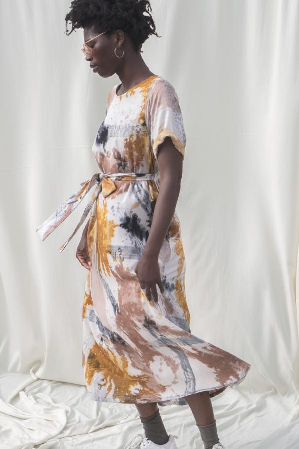 Osei-Duro Nonna Dress - Thunderstruck