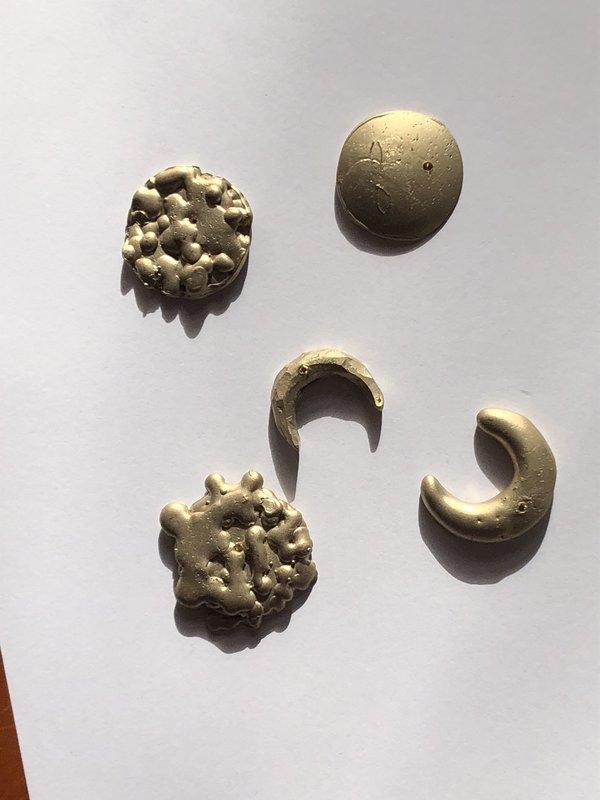 General Sleep Snow Moon Incense Holder - Bronze