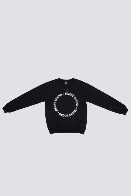 Silent Sound Reflective Circle Logo Sweatshirt