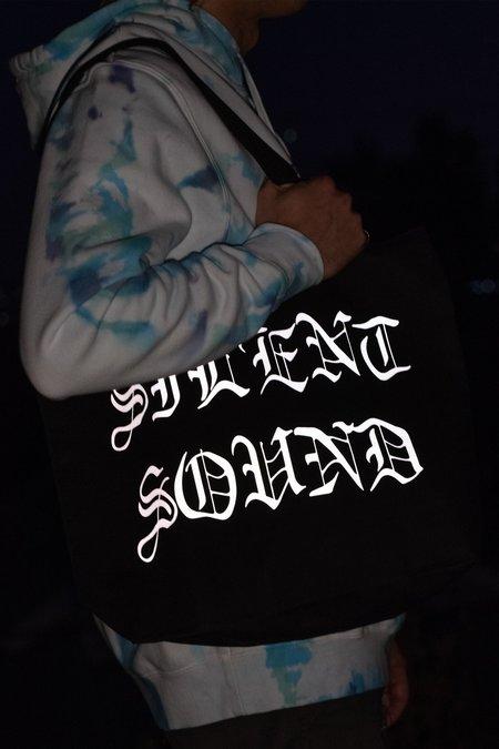 Silent Sound Reflective Logo Tote Bag