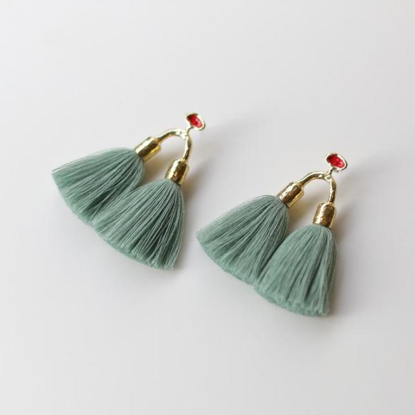 Ora-C Aria Earrings - Sage