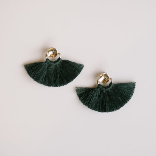 Ora-C Odrey Earrings - Forest