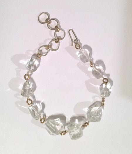Annie Costello Brown Crystal Collar