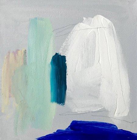 Genevieve Allen Light Of A Clear Blue Morning Art Piece