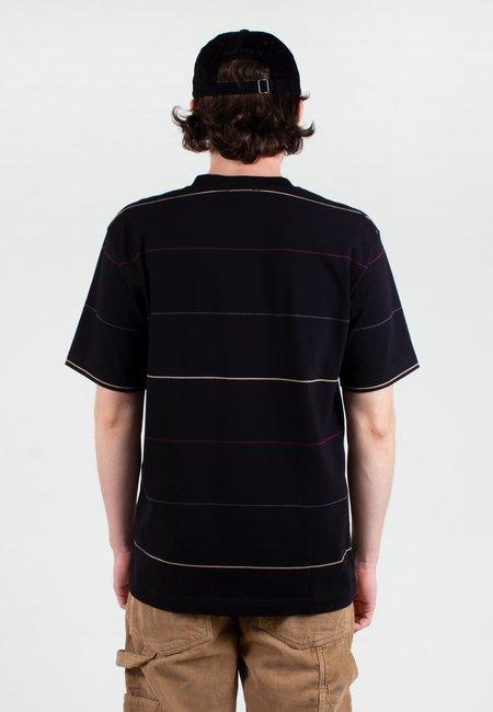 Norse Projects Johannes Thin Stripe T-Shirt - black