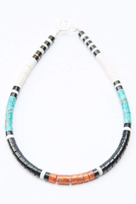 Gerard & Mary Calabaza Heishi Bracelet - Multicolor