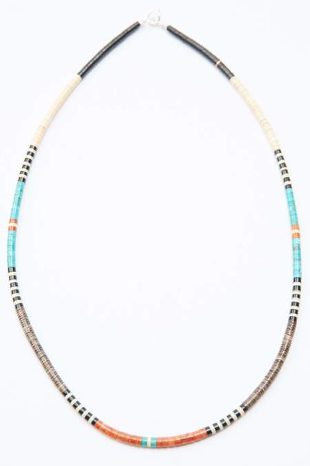Gerard & Mary Calabaza Heishi Necklace - Multicolor