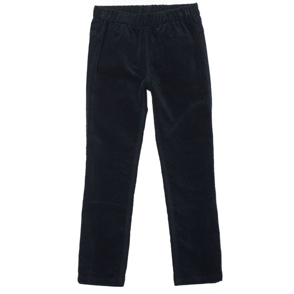 Kids Bonton Velvet Pants - Blue