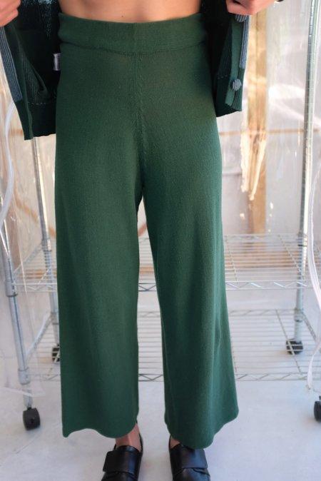 Beklina Culotte Knit Trouser - Cypress