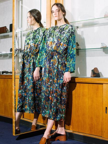 Anntian Simple Dress - AO Print