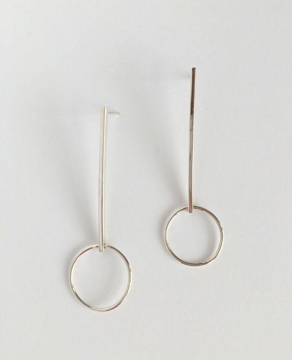 Yellow Jewellery Alice Earring - Silver