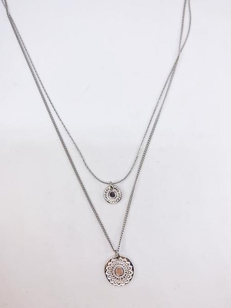 HUMANITY COLLIER BALANCE - silver