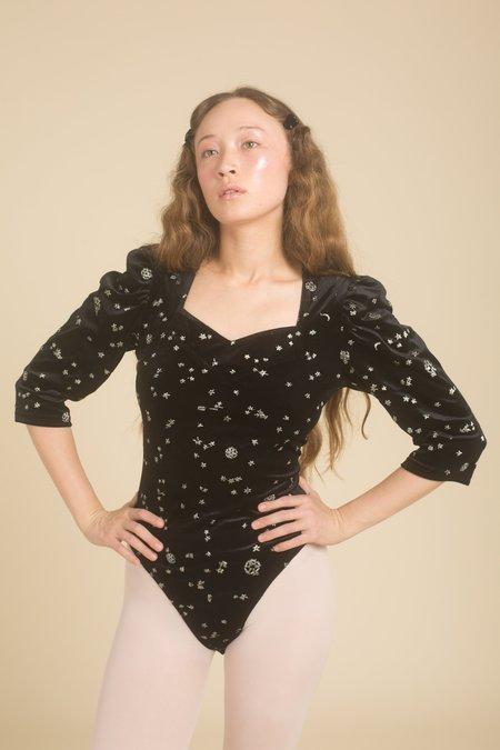 Samantha Pleet Venus Bodysuit - Black