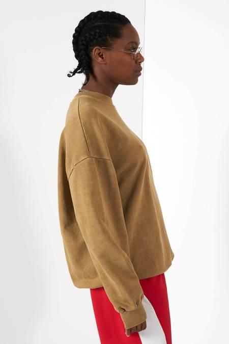 Anglan Pig Washing Sweatshirt - Beige