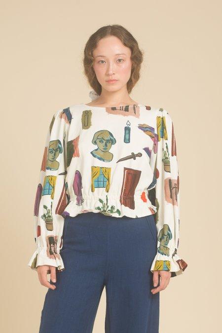 Samantha Pleet Cloud Shirt - Dreaming Print
