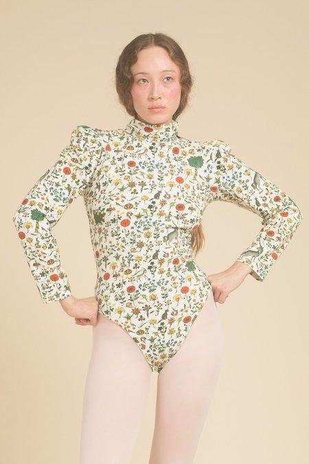 Samantha Pleet Turtle Bodysuit - Ivory Illuminated