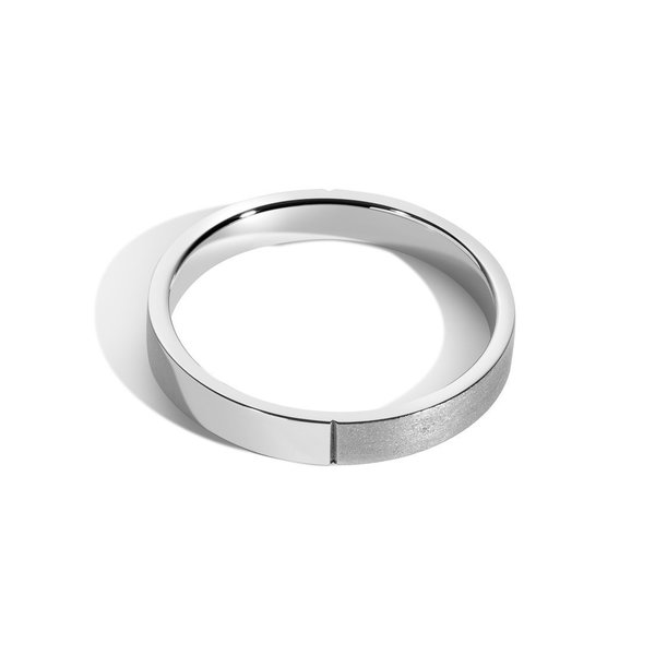 Shahla Karimi Every Love 3mm Better Half Band Ring
