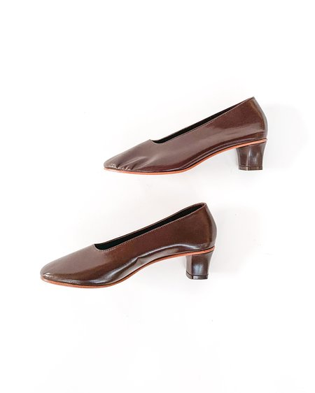 Martiniano High Glove Shoe - Dark Umber