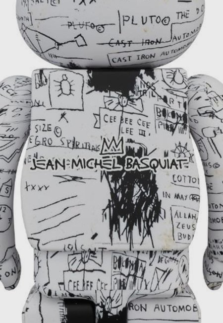 MEDICOM TOY Be@rbrick Jean Michel Basquiat V3 1000% figure