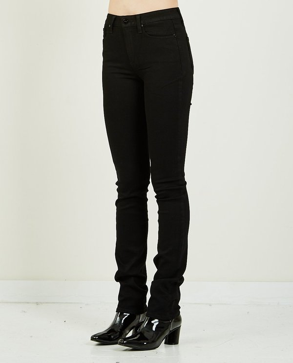 Paige HOXTON STRAIGHT JEAN - BLACK SHADOW