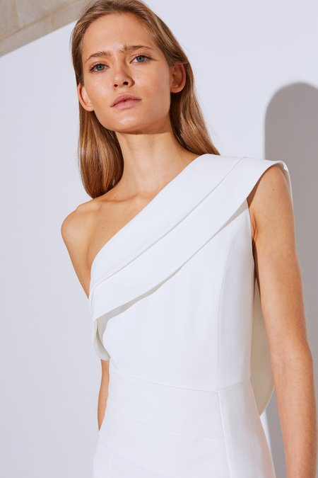 Cameo Fragment Gown - Ivory