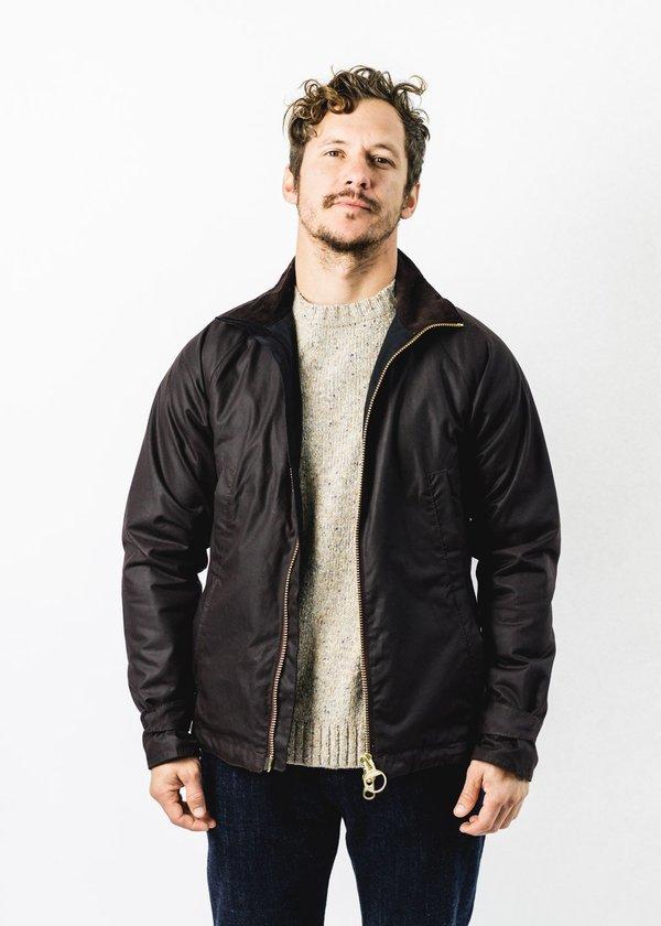 Barbour Floccus Wax Jacket - Rustic