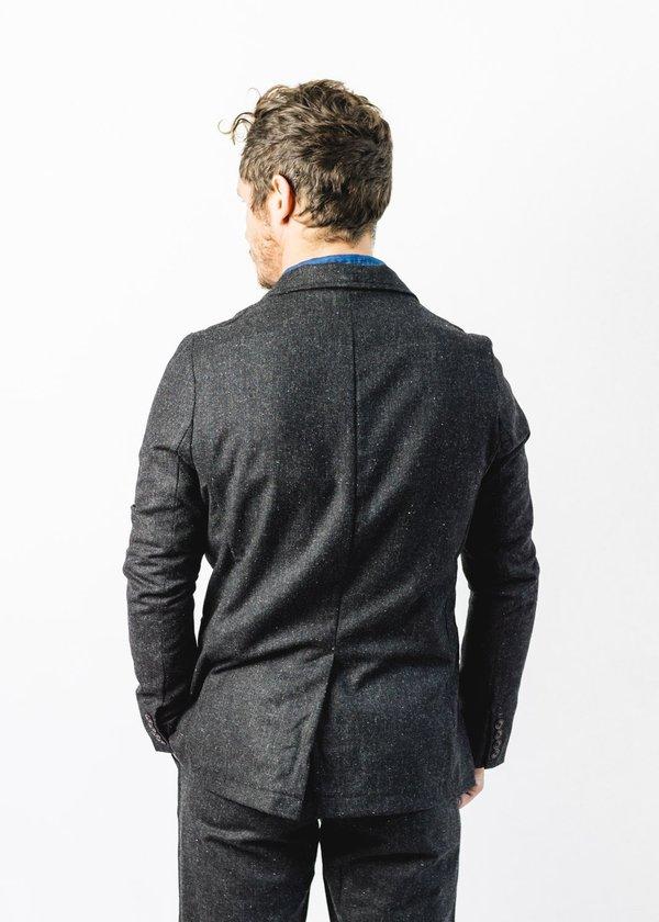 Corridor Tweed Blazer - Charcoal