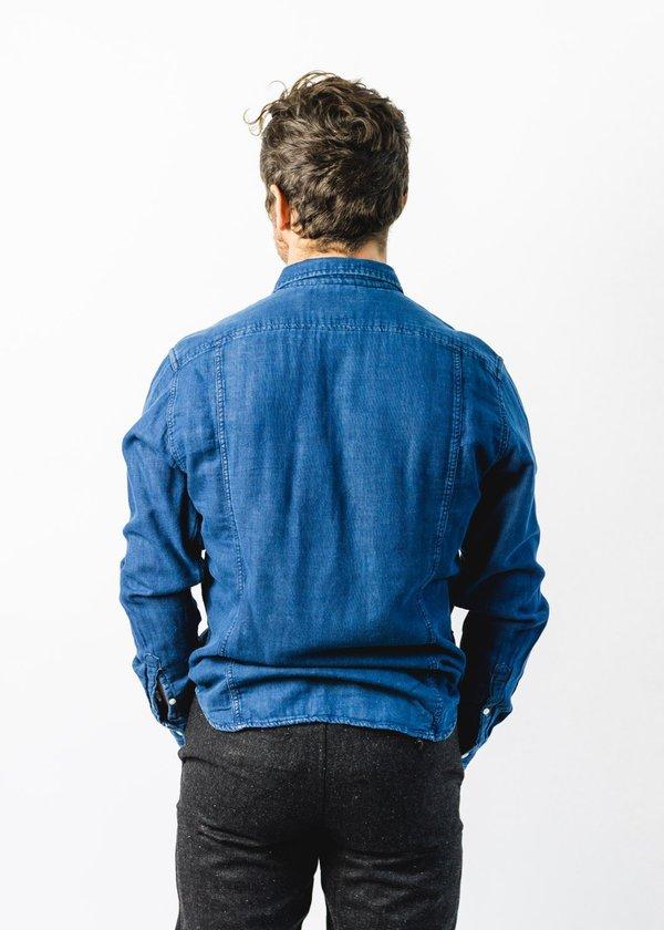 Corridor Lined Shirt - Indigo